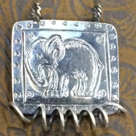 Elephant Sterling Silver Chatelaine