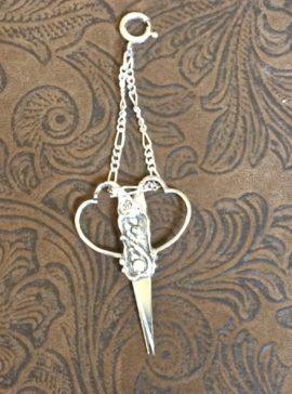 Scissors charm