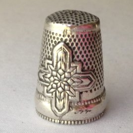 Jinny Beyer Sterling Silver Dome Thimble