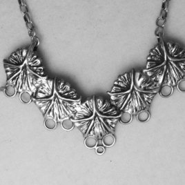 Pineapple 5, Sterling Silver Chatelaine