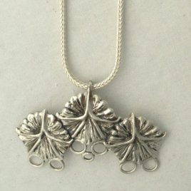 Pineapple 3, Sterling Silver Chatelaine