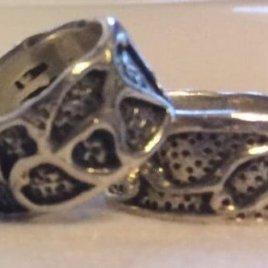 Yubinuki Sterling Silver Japanese Thimble Ring