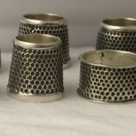 Tailor's Thimble in Sterling Silver many sizes and styles