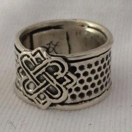 Celtic Knot Tailors Thimble