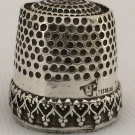 Basic Hearts Band Dome Thimble
