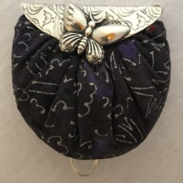 Butterfly Purse With Pincushion Chatelaine